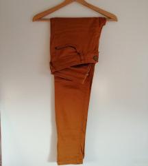 Rjave jeans hlače