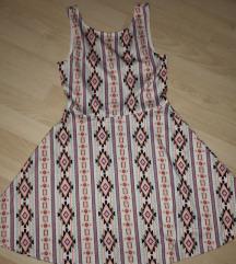 obleka z vzorcem s/m
