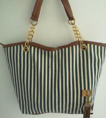 Črtasta torbica