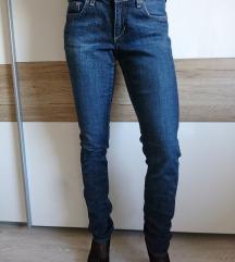 Hlače jeans kavbojke, št 26, XS-S, enkrat oblečene