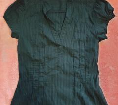 Črna srajčna bluza