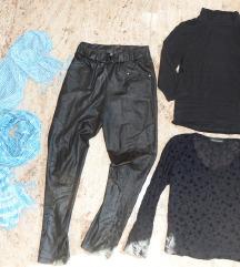 M 38 ženska oblačila hlače pajkice majica krilo