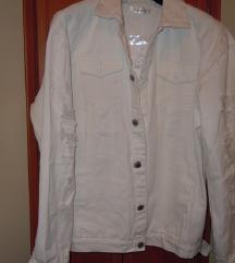 Bela jeans jakna - nova