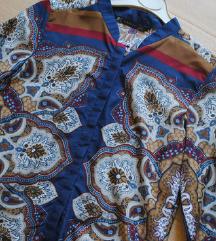 Zara vzorčasta bluza