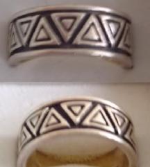 Prstan - pravo srebro  (s poštnino)