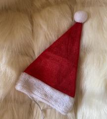 Božična kapa za psa