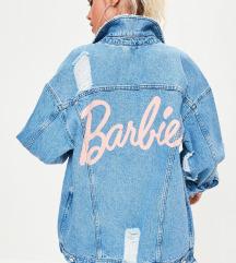 Missguided x barbie jeans jakna