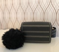 Morgan črna torbica z neti