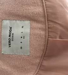 Vero moda roza plašč