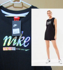 Nike NOVA črna-holografska obleka