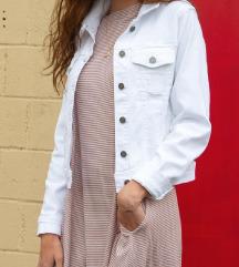Bela jeans jakna NOVA