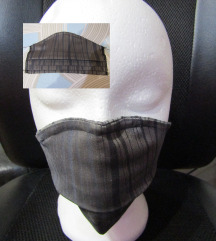 4 x 2-slojne home-made maske (-za GASILCE, DO,...)