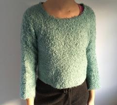 turkizen fluffy pulover