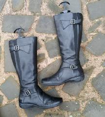 CAPRICE št. 37 1/2 pravo usnje škornji