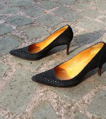 Max Mara št. 36 semiš čevlji , original