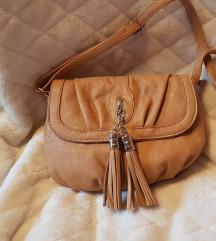 AKCIJA! Usnjena rjava torbica,iz 15 na 10eur
