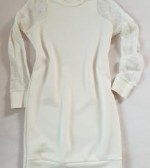 Zara bela tunika ali obleka S/M