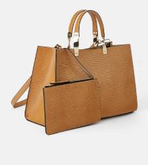 Zara rjava torbica