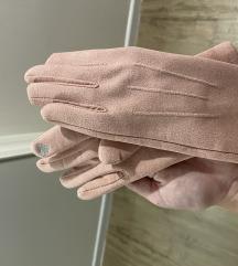 NOVO roza rokavice