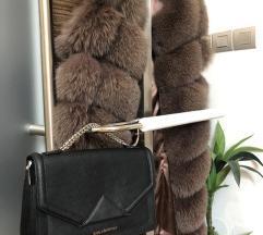 Karl Lagerfeld usnjena torbica medium