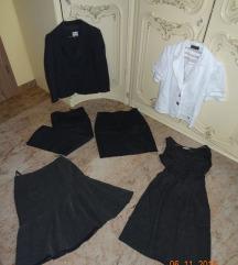 ženska oblačila 40: obleka krilo hlače suknjič