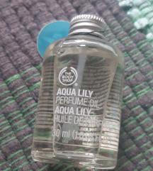 Body Shop aqua lilly parfumsko olje