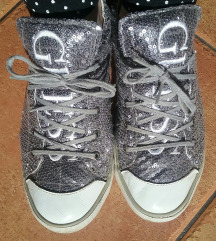 Guess silver sequin sneackers 40/41