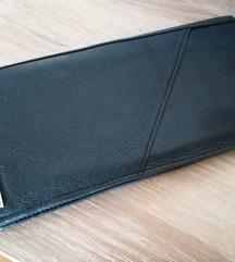 Calvin Klein črna usnjena denarnica