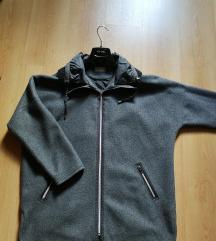 Siva prehodna jakna