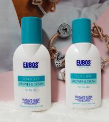 EUBOS komplet kremni geli za tuširanje