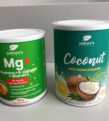 Mg + B kompelks + guarana, rižev napitek- kokos
