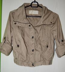 Rjava kratka jakna, AKCIJA 14€