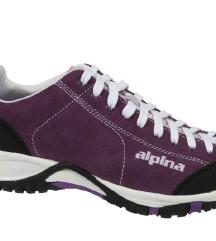 Usnjeni pohodni čevlji Alpina