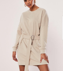 Top belted dress