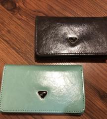 Dva novi denarnici-obe skupaj sta 5€