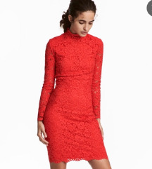 Nova H&M obleka s čipko