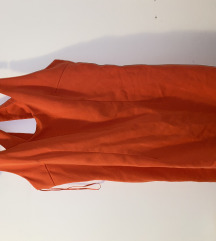 Oranzna obleka