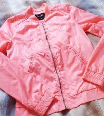 Neon roza bomber  xs