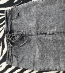 jeans krilo na vezalke