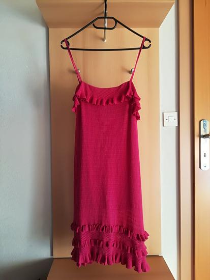 Benetton knit roza oblekica