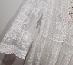Tunika / obleka za čez kopalke (črna in bela)