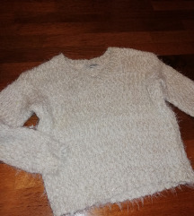 Topel svetleč pulover