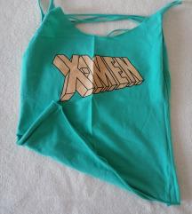 Majica z odprtim hrbtom