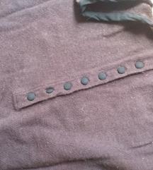 COMPTOIR DES COTONNIERS puloverček gumbki svila