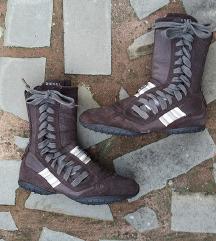DIESEL št. 37 pravo usnje škornji original
