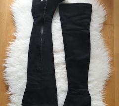 Overknee škornji 37