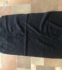 črna mini obleka