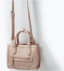 """Zara torbica pastelno roza (""""Celine"""" stil torbice)"""