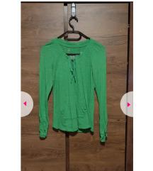 Živo zelena tanjša majica h&m sport
