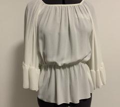 Modna bela bluza